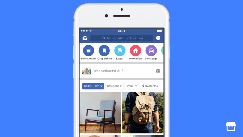 facebook marketplace gestartet konkurrenz f r ebay kleinanzeigen und co. Black Bedroom Furniture Sets. Home Design Ideas