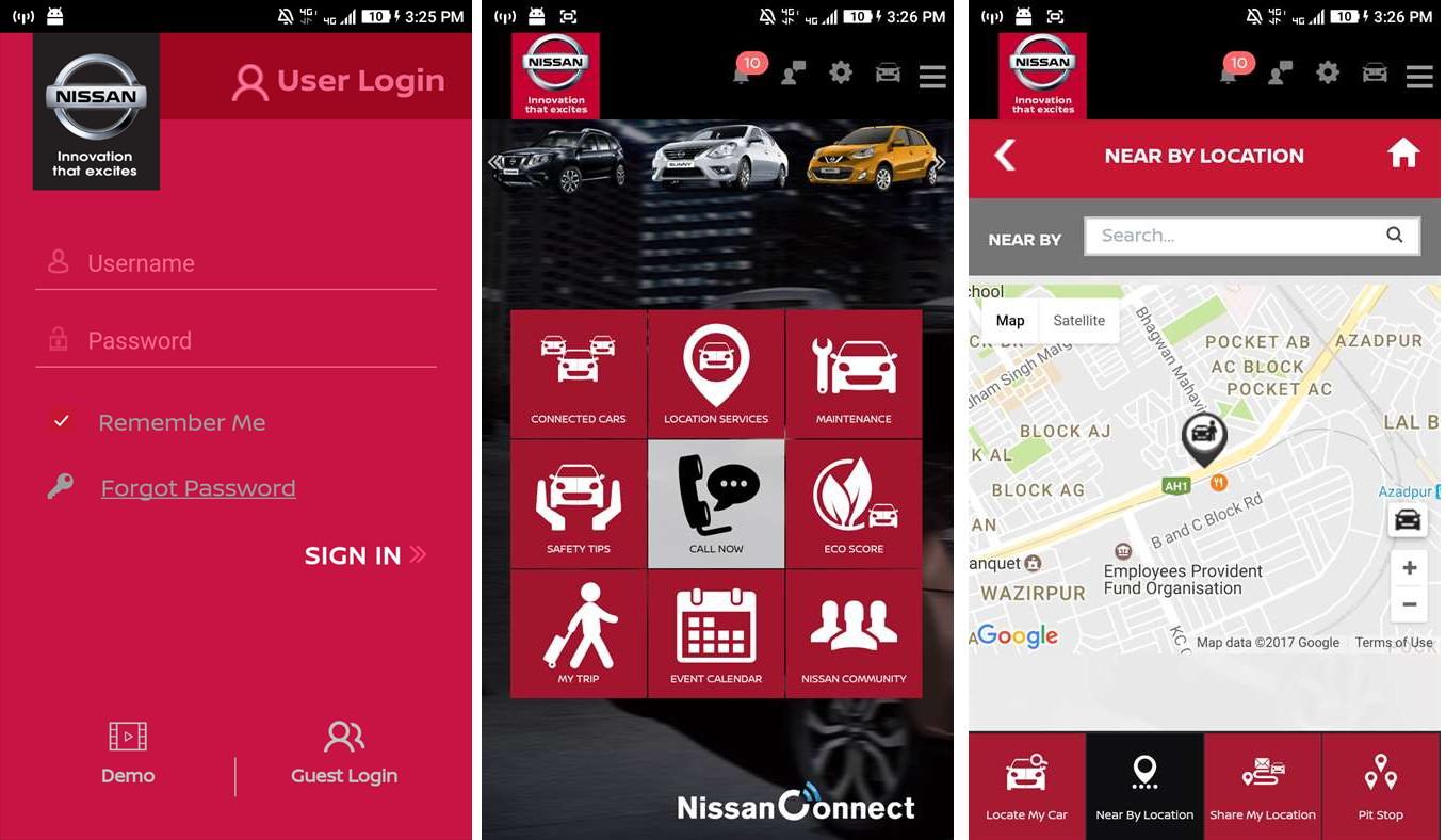 windows 10 mobile nissan connect als app verf gbar. Black Bedroom Furniture Sets. Home Design Ideas