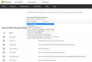 PowerShell Module Browser – Befehle und Erklärungen schnell finden