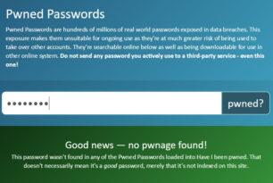 Hab ich das richtige Passwort ausgewählt? Pwned Passwords kann helfen