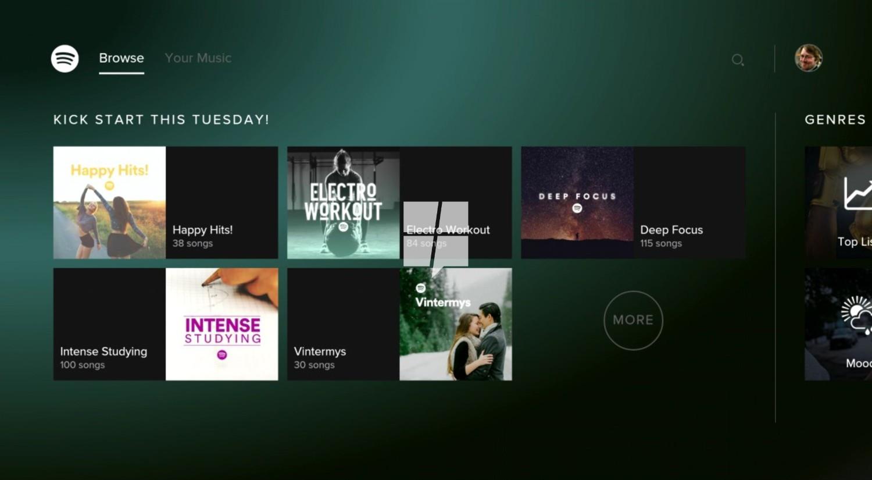 Die Spotify App ist offiziell auf Xbox One verfügbar