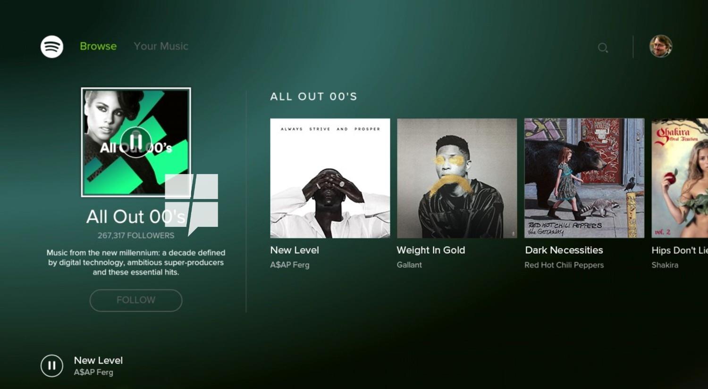 Ab sofort verfügbar: Spotify für Xbox One