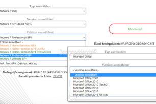 TechBench: Windows 7, Office 2007 und 2010 wieder erreichbar