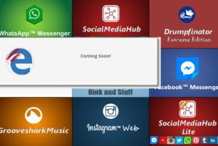 Social Media Erweiterungen für den Microsoft Edge kommen