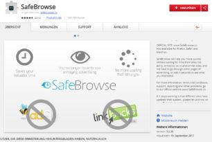 SafeBrowse Chrome Erweiterung enthält einen Crypto Miner
