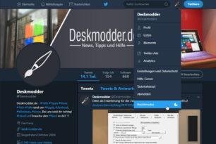 Twitter bringt Nachtmodus für die Webseite und ändert die Geschäftsbedingungen zum 2. Oktober 2017