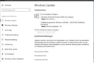 Windows 10 16288 (RS3) steht für die Insider im Slow Ring bereit [Update: 15.09.]