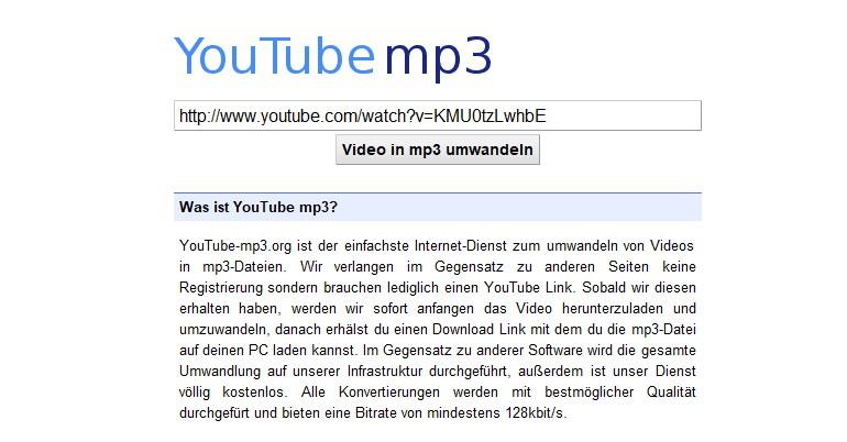 Download-Plattform YouTube-mp3.org muss Pforten schließen