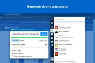 1Password nun auch für den Microsoft Edge