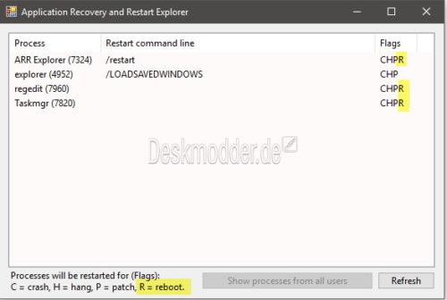 Programme Und Fenster Starten Automatisch Nach Dem Update