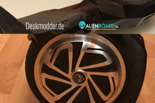 AlienBoard BatWings – Hoverboard im Test
