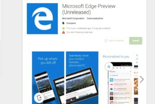 Android: Microsoft Edge nun auch verfügbar (APK)