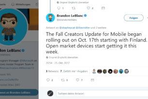 Windows 10 Mobile 1709 15254.1 Fall Creators Update wird ab heute als finale Version verteilt [Update]