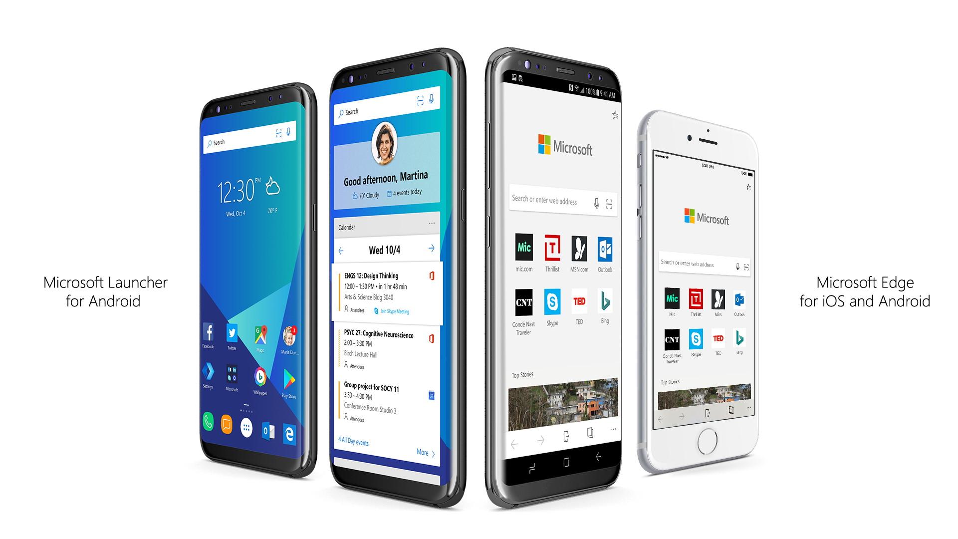 Microsoft kündigt Edge-Browser für Android und iOS an