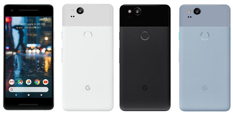 Google streamed Enthüllung von Pixel 2 live