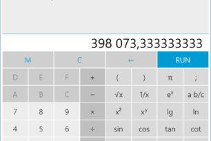 Rechner + nun auch als Universal App für Windows 10