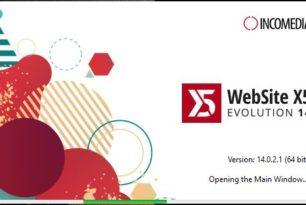 WebSite X5 V14 – Kurzer Test & Gewinnspiel