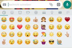 WhatsApp für Android mit neuen Smileys