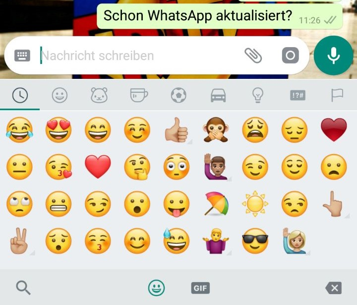 Smileys Whatsapp Neu