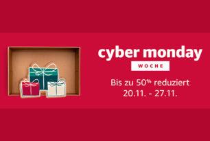 Erinnerung: Amazon Cyber Monday Woche gestartet