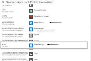 EdgeDeflector – Links zum Microsoft Edge auf den eigenen Browser umleiten