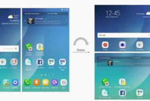 Galaxy X Prototyp und Patente der Benutzeroberfläche vom Dual-Screen