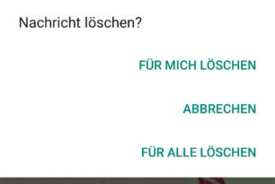 """WhatsApp: Zeitraum für das """"Löschen von Nachrichten"""" wurde verlängert"""