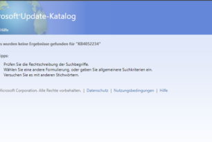 KB4052234 und KB4052233 kommentarlos zurückgezogen (Windows 7 und 8.1)