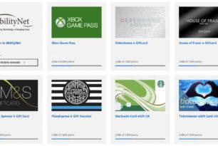 Microsoft Rewards Prämien: Starbucks, Pizza Express und andere hinzugekommen (Derzeit nur UK)
