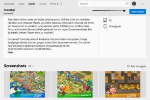 Microsoft Store App mit einem Update auf die 11710.1001.22.0 (AppX)
