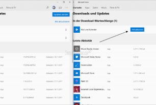 Microsoft Store App mit einer optischen Änderung (Insider 11711.1001.4.0)