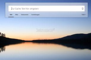 Cortana 2.0 – Neues Aussehen der Suche in Windows 10 RS4 (Video) (Regtweak)
