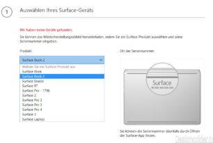 Recovery Image für das Surface Book 2 steht zum Download bereit