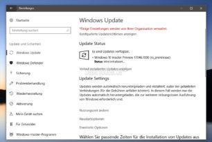 Windows 10 17046 steht für die Insider bereit (Changelog)