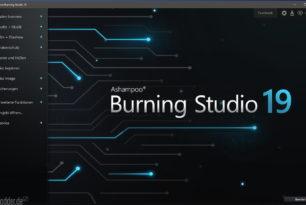 Ashampoo Burning Studio 19 erschienen und bei uns im Adventskalender