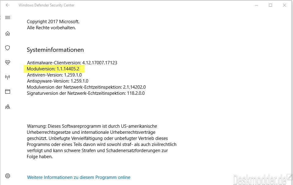 Windows Defender Malware Protection Engine: Kritische Lücke