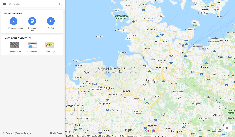 google maps go als pwa auf leistungsschwachen computern. Black Bedroom Furniture Sets. Home Design Ideas