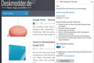 Internet Download Manager App für den Microsoft Edge verfügbar