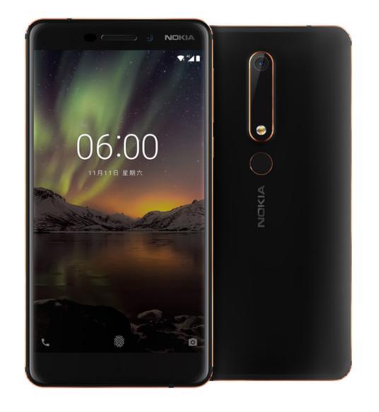 Nokia 6 (2018): Daten & Bilder vorab im Netz aufgetaucht