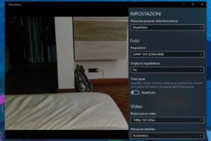 Kamera App mit vielen Verbesserungen Windows 10 Insider Desktop