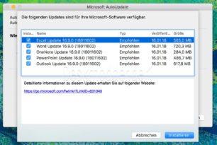 Microsofts Office-Updates für macOS sind ein Trauerspiel