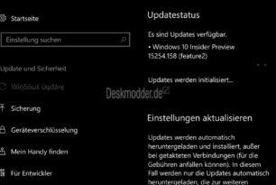 Windows 10 Mobile 15254.158 KB4073117 und 14393.2007 (Anniversary Update) CPU-Patch wird ausgerollt