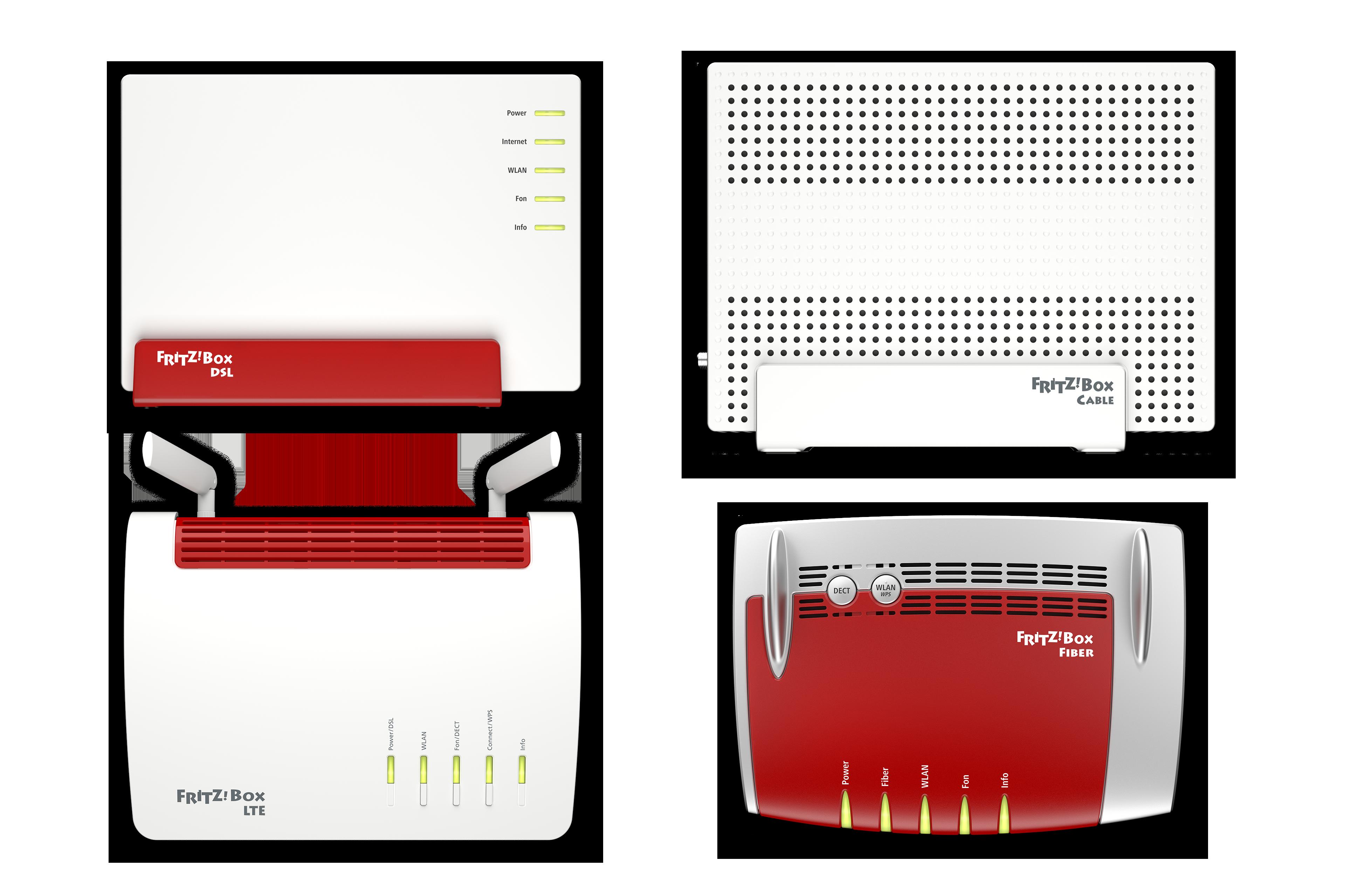 AVM zeigt neue Fritzbox 7583 auf dem MWC