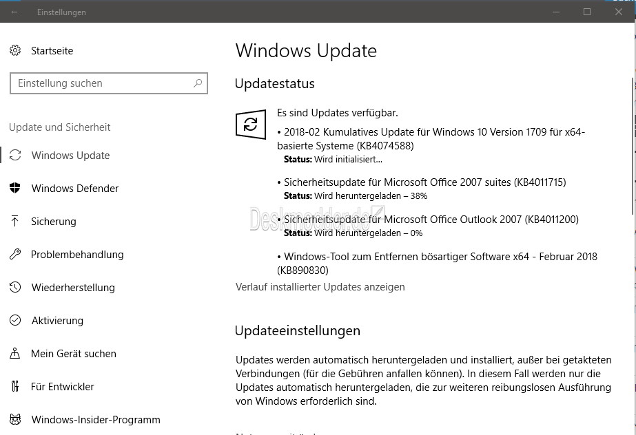 Windows 10: Unterbrochene Update-Downloads lassen sich bald fortsetzen