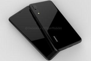 Huawei P20 Plus: Render-Video zeigt Gerät mit Triple-Kamera