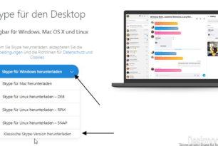 Skype 7.41 bzw. 7.36 – Alte Version wieder installieren und nutzen