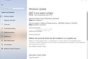 Windows 10 17093 steht für die Insider bereit