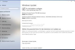 Windows 10 17101 – Neue Insider Build im Fast Ring steht bereit