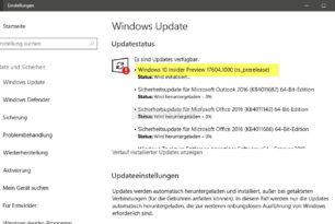 Windows 10 17604 Erste Insider Build für Redstone 5