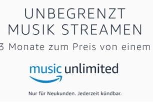 Amazon Music Unlimited 3 Monate für Familien zum Preis von einem